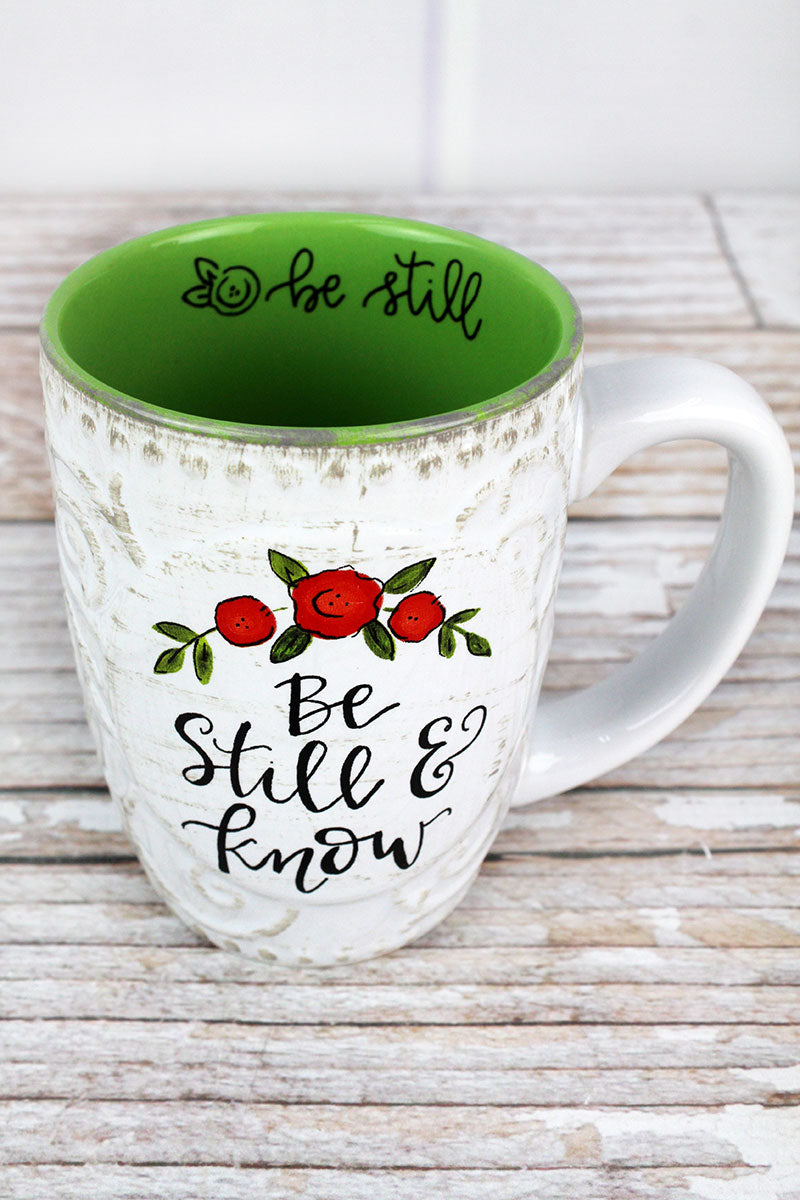 Be Still & Know Simple Inspirations Ceramic Mug