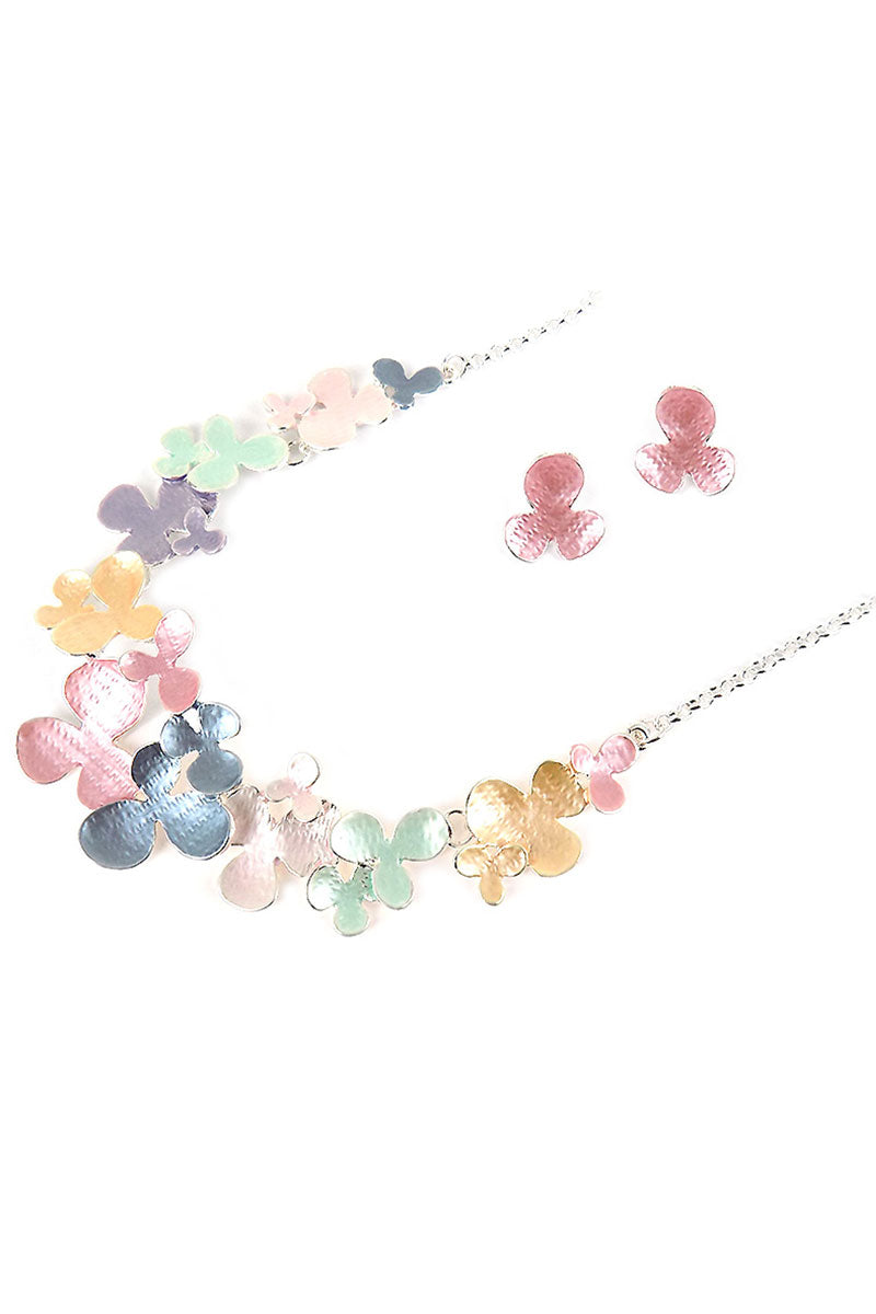 Pastel Spring Fling Necklace and Earring Set
