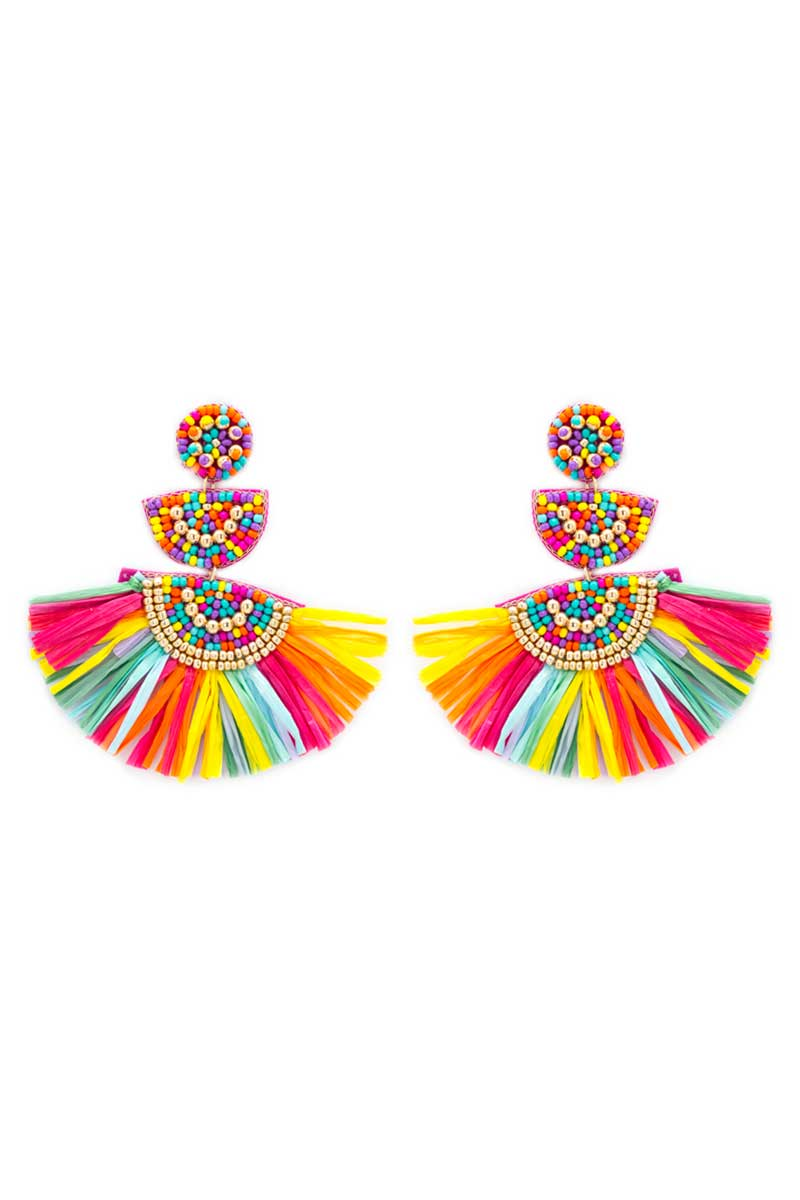 Multi-Color Key Largo Earrings