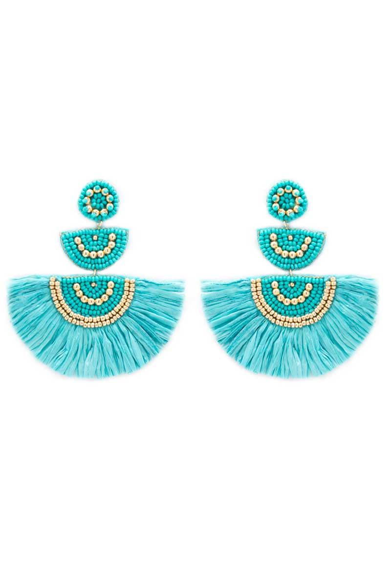 Turquoise Key Largo Earrings