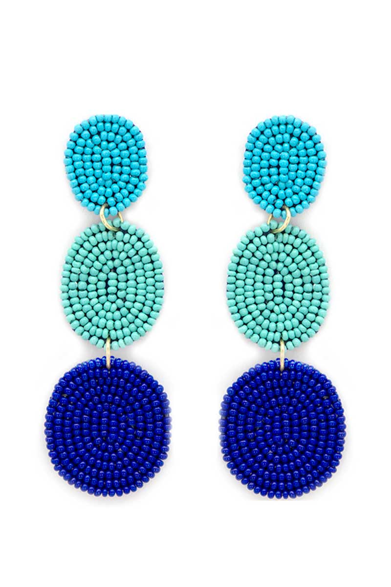 Blue Bahama Bay Earrings
