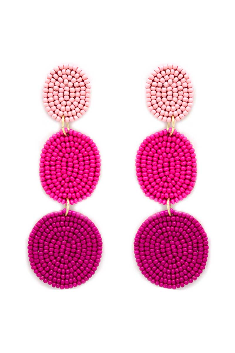 Fuchsia Bahama Bay Earrings
