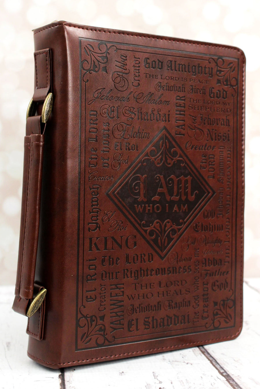 Names of God LuxLeather Large Bible Cover