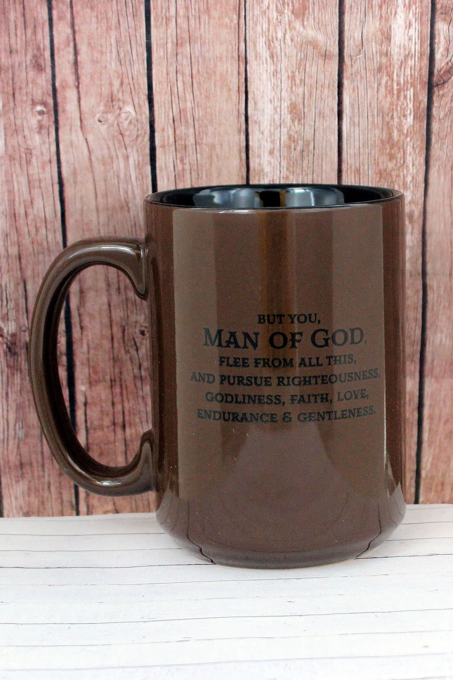 "1 Timothy 6:11 ""Man of God"" Mug"