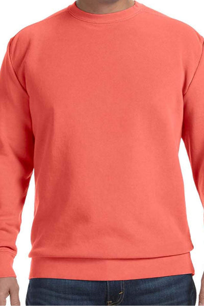 Comfort Colors Adult Crew-Neck Sweatshirt #1566 * Available in Various Colors (PLEASE ALLOW 3-5 BUSINESS DAYS. EXPEDITED SHIPPING N/A) - Wholesale Accessory Market