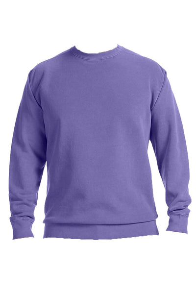 Monogrammed Hip Comfort Colors Adult Crew-Neck Sweatshirt *Customizable (Wholesale Pricing N/A)