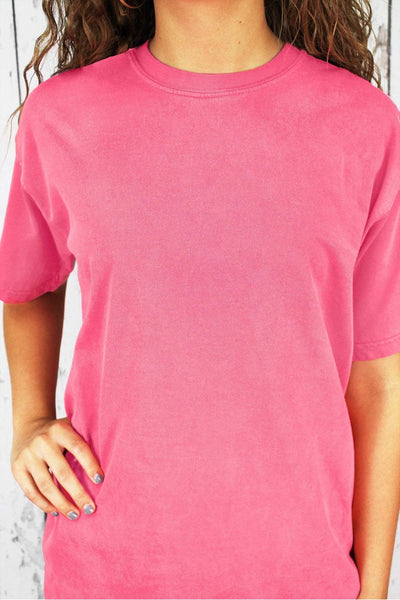 Shades of Pink/Purple Comfort Colors Adult Ring-Spun Cotton Tee *Personalize It