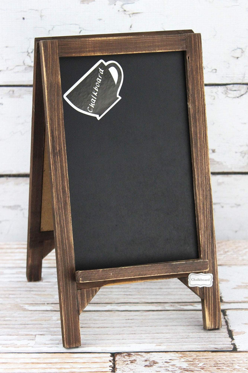 13 x 7 'Behind Every Successful Person' Wood Chalkboard Stand