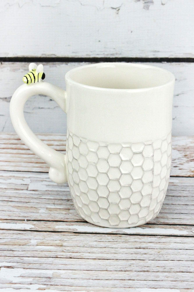 Ceramic Bee Blessed Mug