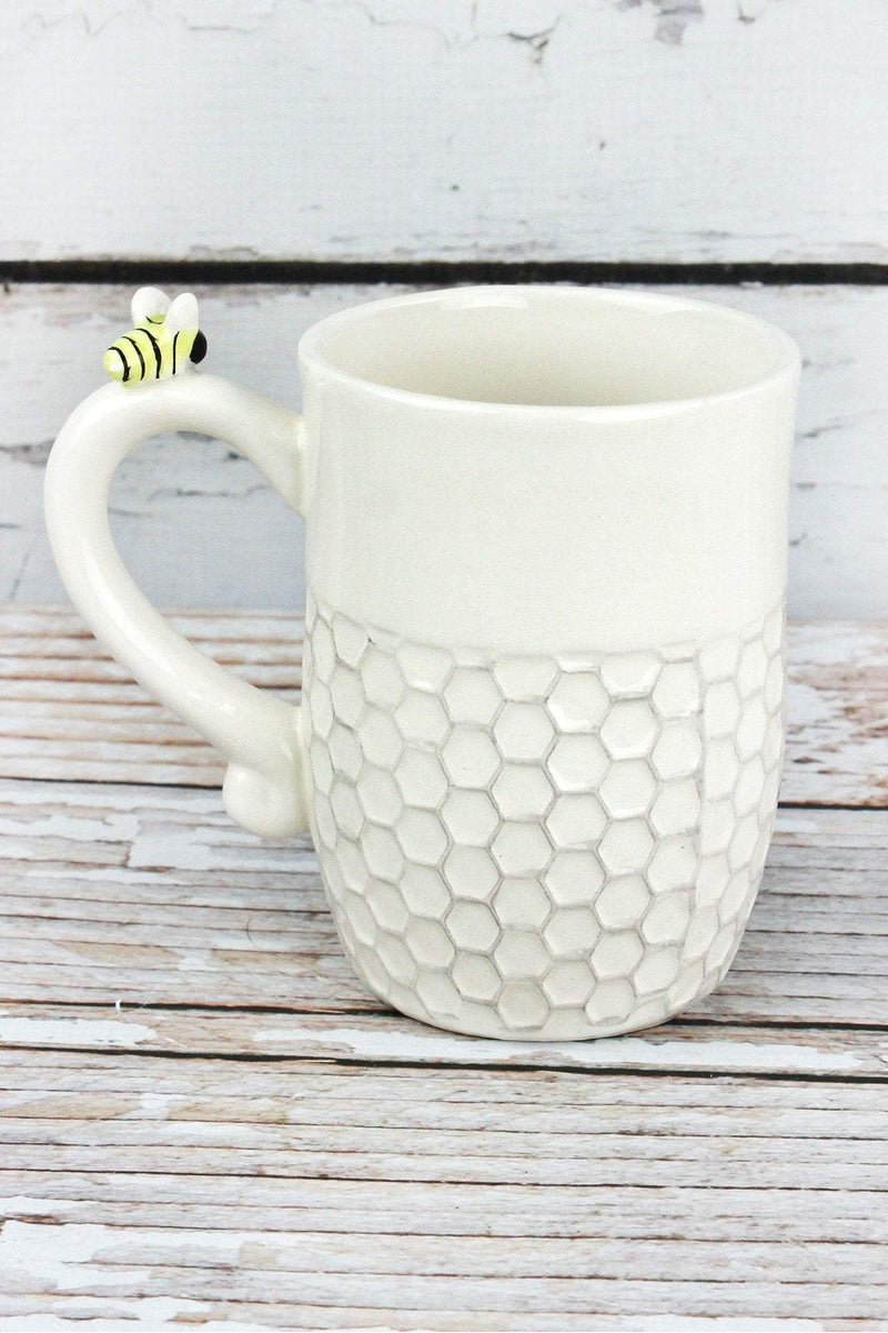 Ceramic Bee Happy Mug