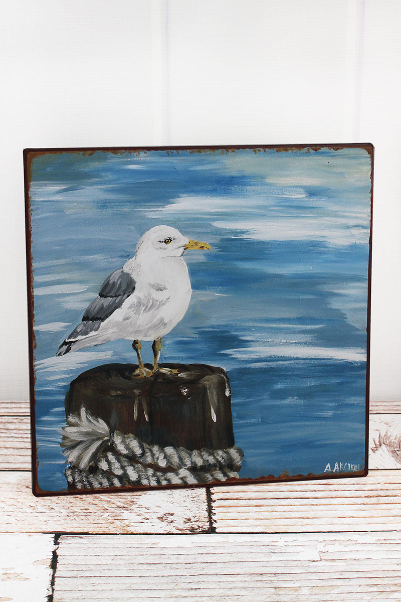 12 x 12 Seagull Iron Wall Art