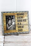 8.75 x 10.5 'Great Dad' 4x6 Photo Frame