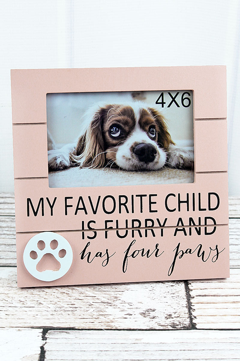 8 x 8 'Favorite Child' Wood 4x6 Photo Frame