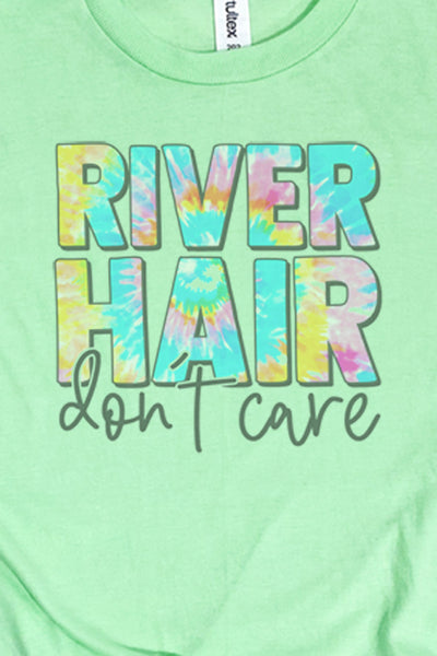 River Hair Don't Care Unisex Blend Tee