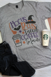 Hocus Pocus Coffee Unisex Poly-Rich Blend V-Neck Tee