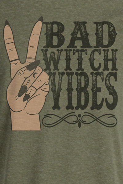 Bad Witch Vibes Unisex Blend Tee