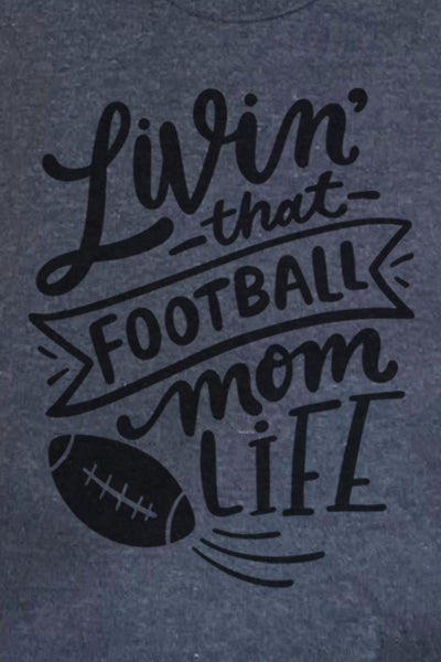 Livin' That Football Mom Life Unisex Blend Tee