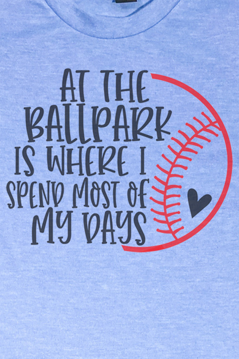 Most Of My Days Baseball Unisex Blend Tee