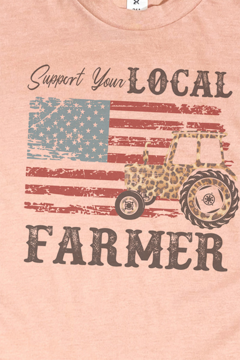 Support Your Local Farmer Unisex Blend Tee