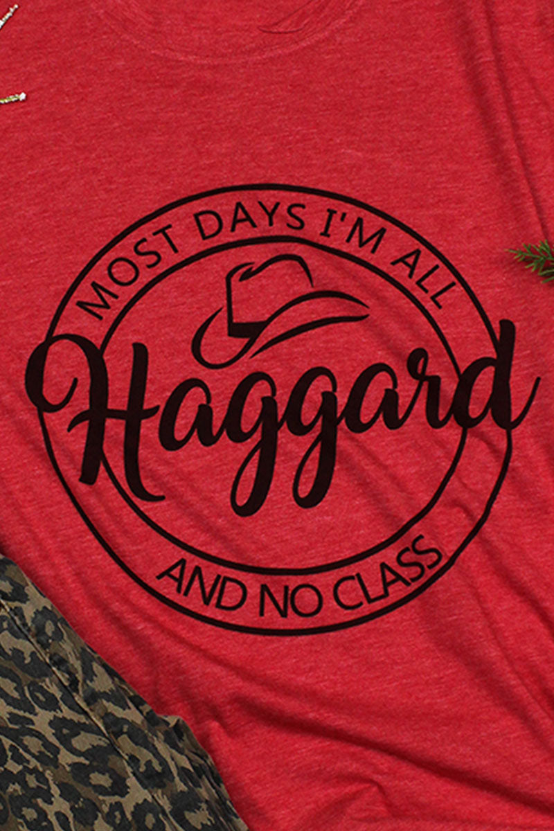 All Haggard Poly/Cotton Tee