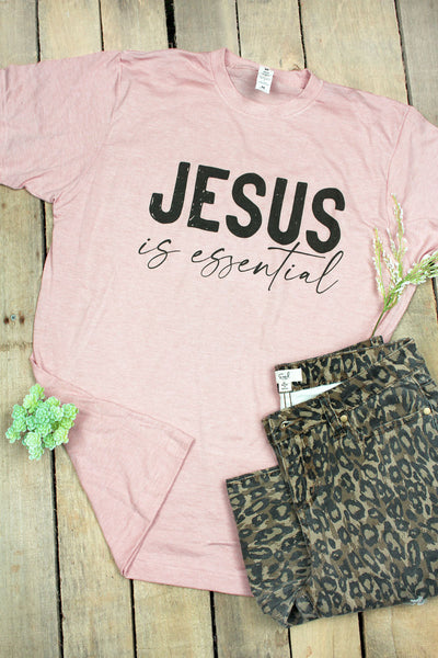 Jesus Is Essential Unisex Blend Tee