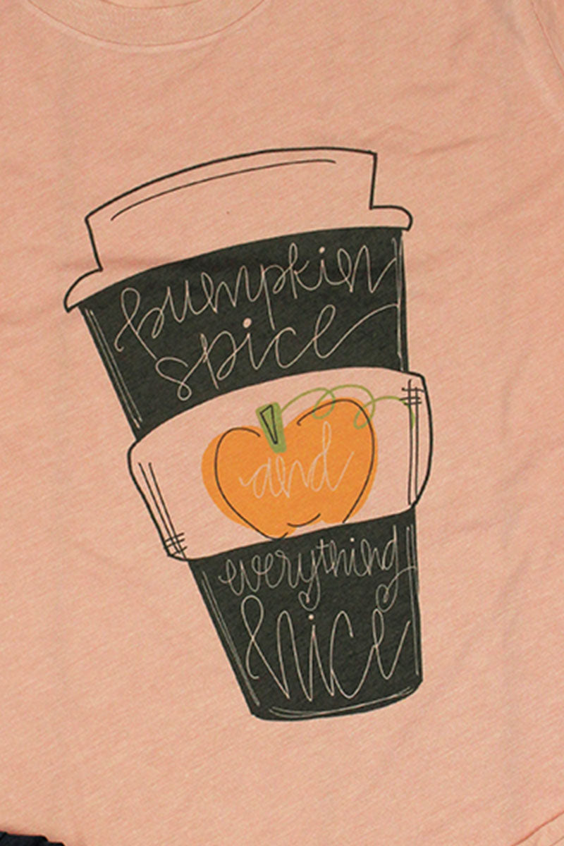 Pumpkin Spice & Everything Nice Cup Unisex Blend Tee