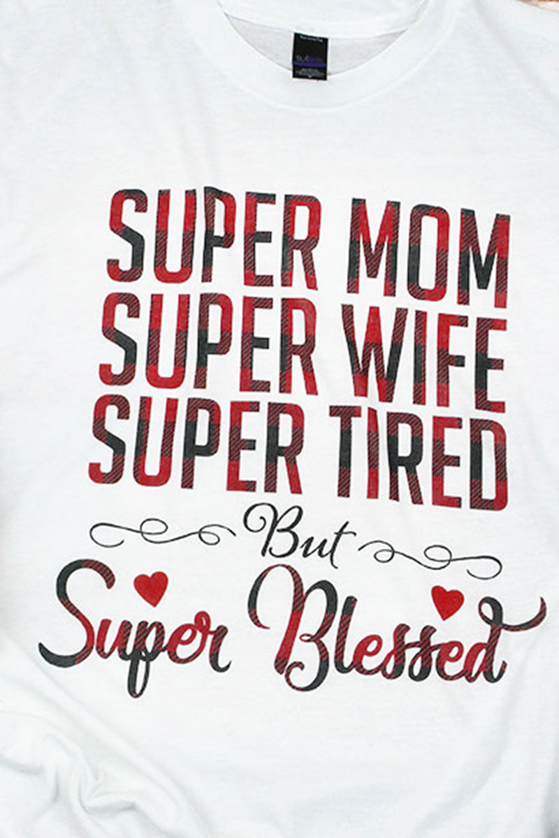 Super Blessed Unisex Blend Tee