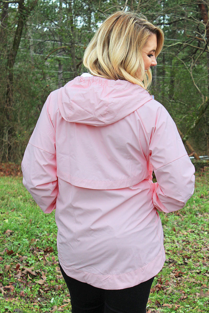 Pennant Women's Light Pink Aqualon Rain Jacket
