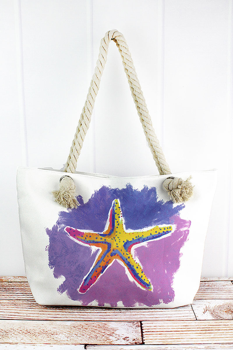 Starfish Beach Break Shoulder Tote