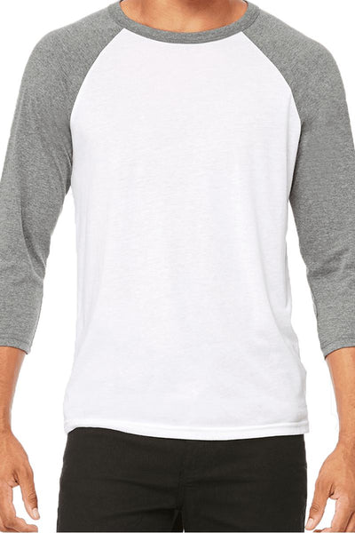 Bella+Canvas Unisex 3/4 Sleeve Tee *Personalize It