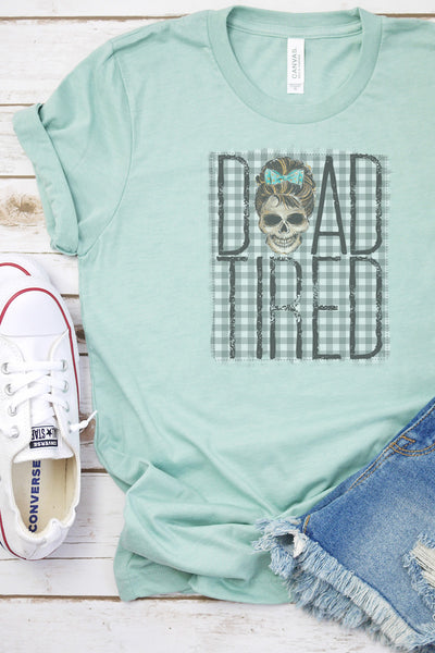 Dead Tired Tri-Blend Short Sleeve Tee