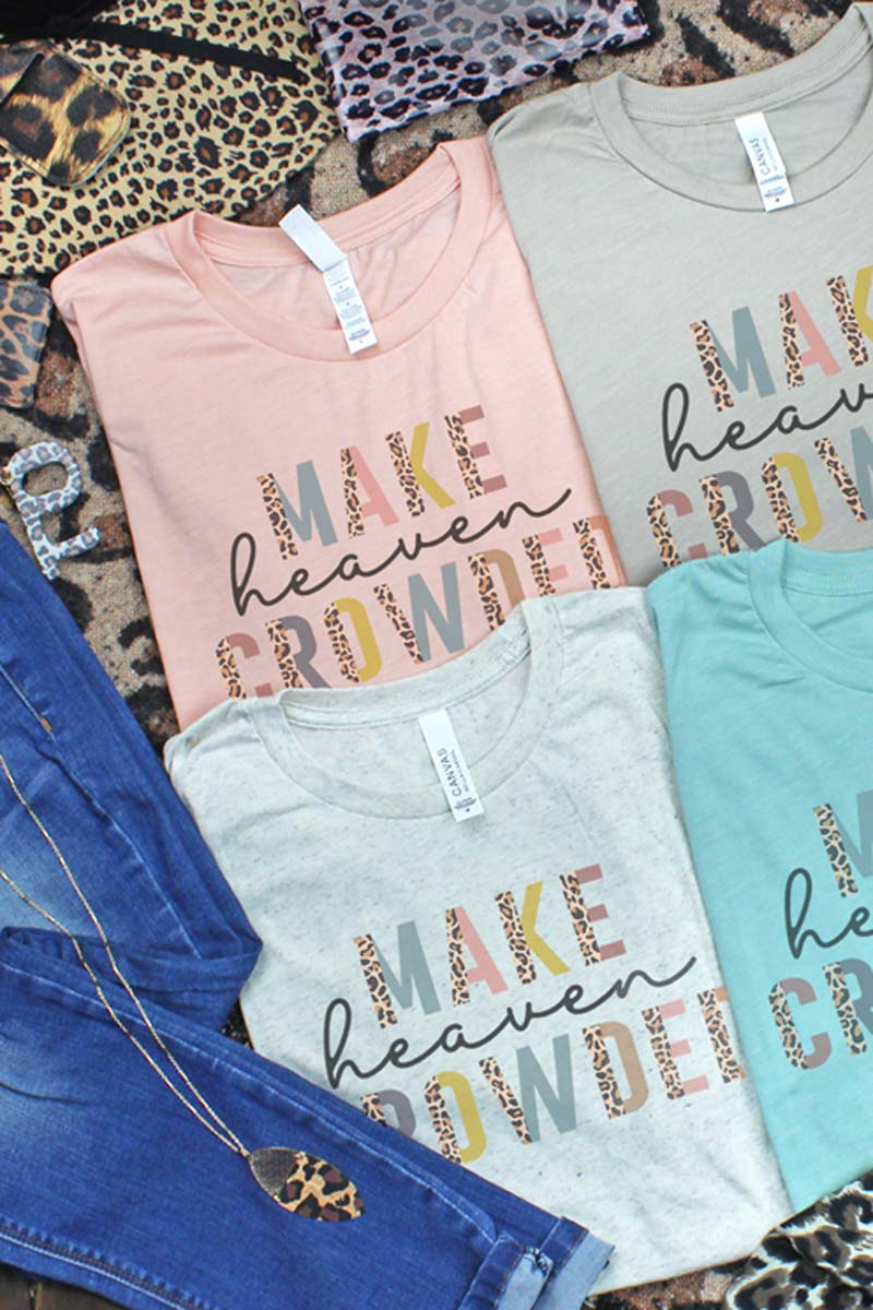 Colorful Make Heaven Crowded Tri-Blend Short Sleeve Tee