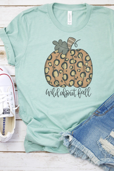 Wild About Fall Tri-Blend Short Sleeve Tee