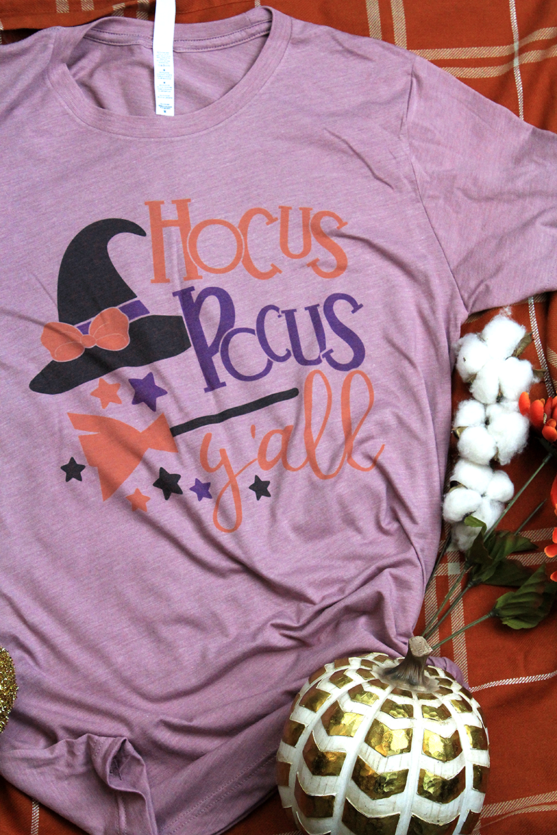 Hocus Pocus Y'all Tri-Blend Short Sleeve Tee