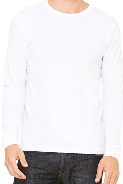 Bella+Canvas Unisex Jersey Long Sleeve T-Shirt #3501 *Personalize It (PLEASE ALLOW 3-5 BUSINESS DAYS. EXPEDITED SHIPPING N/A) - Wholesale Accessory Market