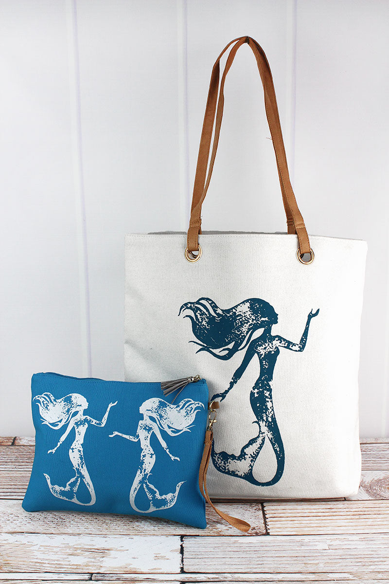 Mermaid Cabo Beach Bag Set