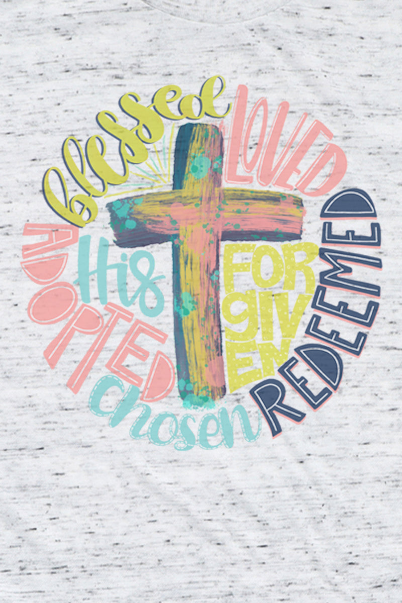 Redeemed Cross Unisex Short Sleeve Tee