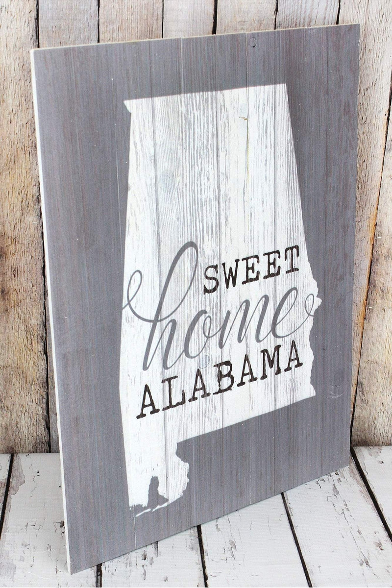 24 x 17.75 'Sweet Home Alabama' Wood Wall Sign
