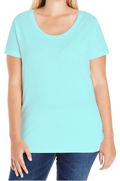 L.A.T. Ladies Curvy Tee #3804 ()