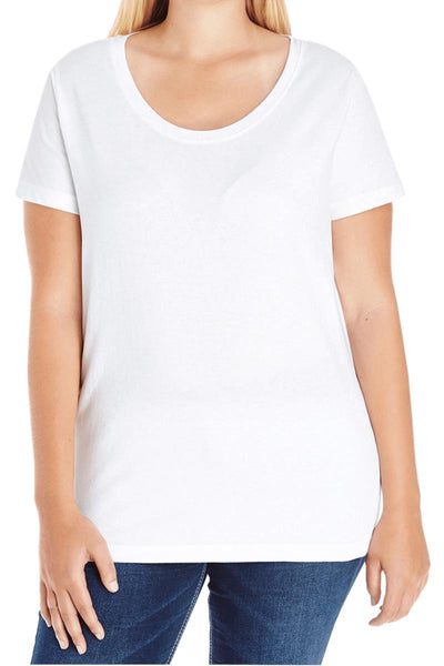 L.A.T. Ladies Curvy Tee #3804 () - Wholesale Accessory Market