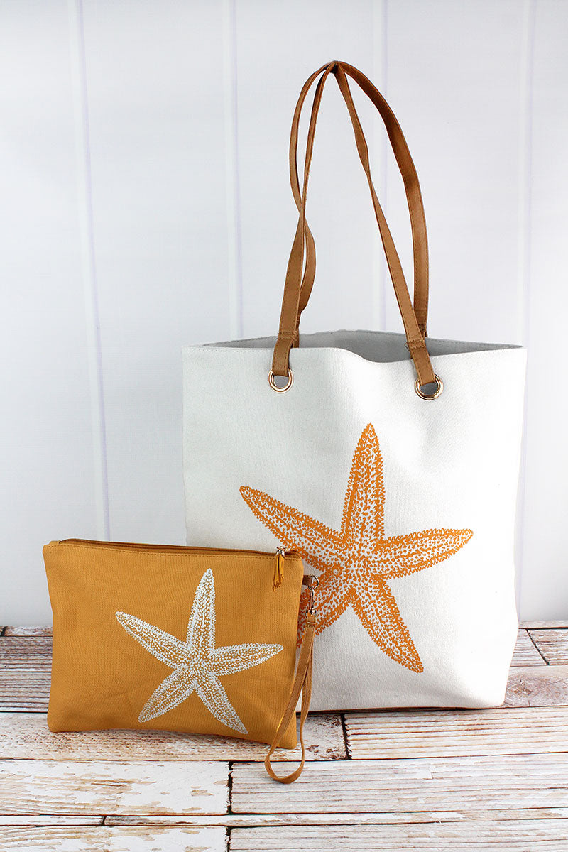Starfish Cabo Beach Bag Set