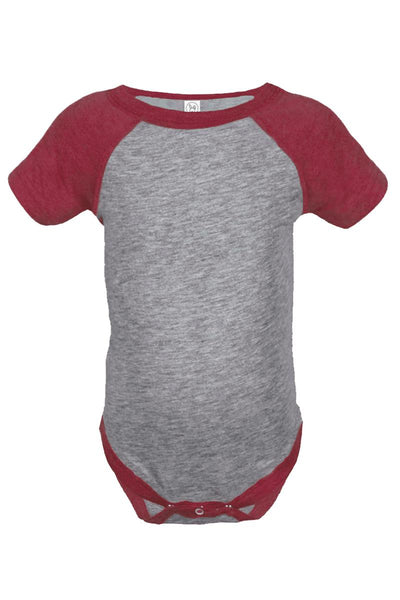 Rabbit Skins Infant Baseball Fine Jersey Bodysuit *Personalize It!
