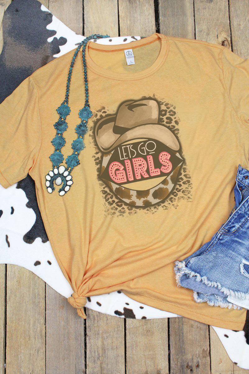Let's Go Girls Cowgirl Unisex Keeper Vintage Jersey T-Shirt