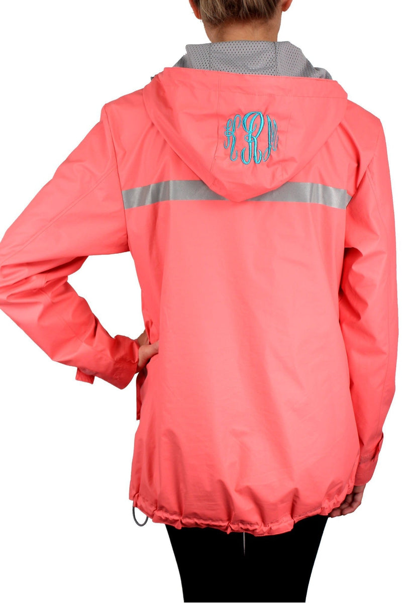 Charles River Women's New Englander Coral Rain Jacket #5099 *Customizable! (Wholesale Pricing N/A.. PLEASE ALLOW 3-5 BUSINESS DAYS.. EXPEDITED SHIPPING N/A) - Wholesale Accessory Market