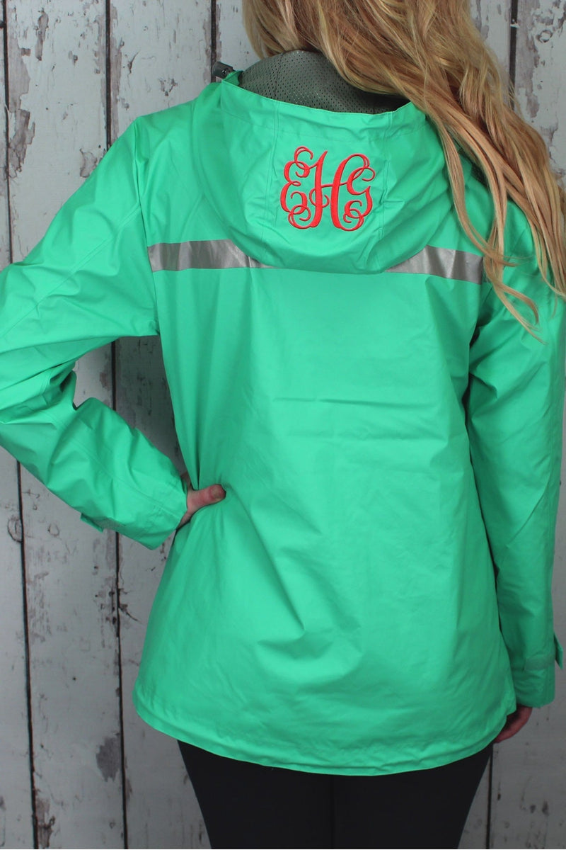 Charles River Women's New Englander Mint Rain Jacket #5099 *Customizable! (Wholesale Pricing N/A.. PLEASE ALLOW 3-5 BUSINESS DAYS.. EXPEDITED SHIPPING N/A) - Wholesale Accessory Market