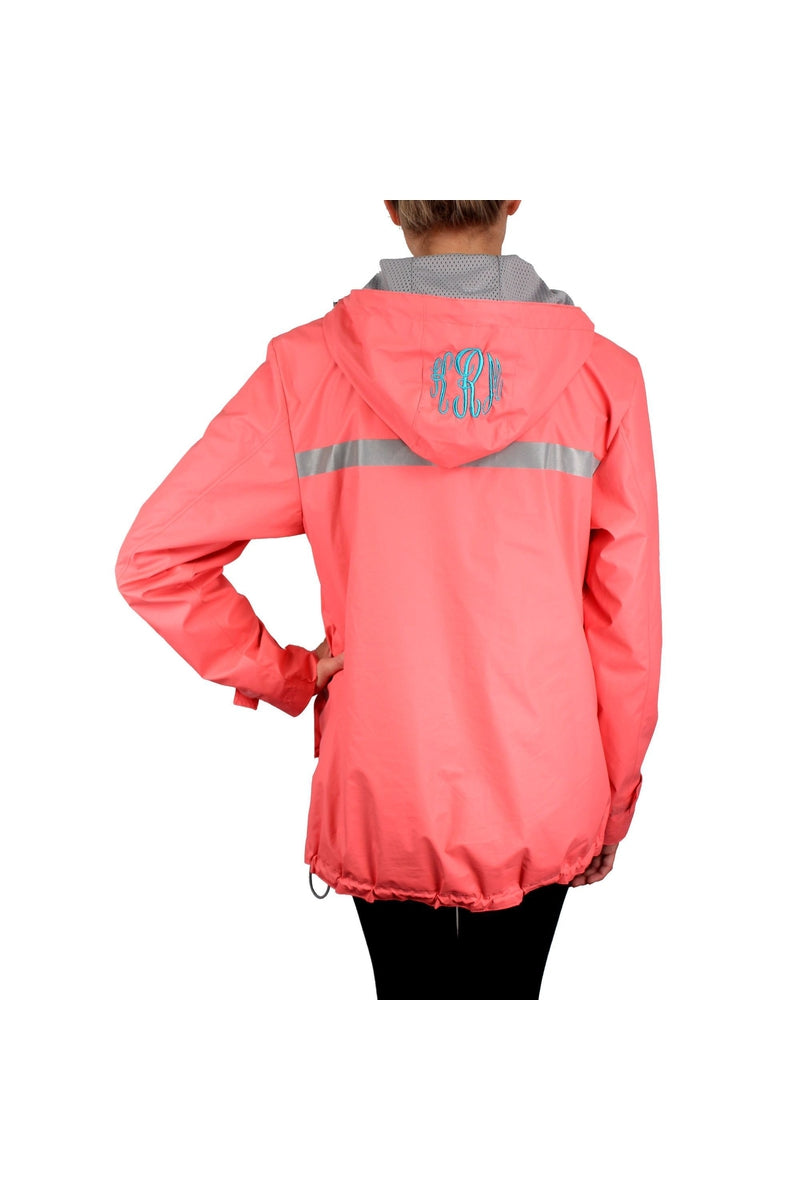 Charles River Women's New Englander Aqua Rain Jacket #5099 *Customizable! (Wholesale Pricing N/A.. PLEASE ALLOW 3-5 BUSINESS DAYS.. EXPEDITED SHIPPING N/A) - Wholesale Accessory Market