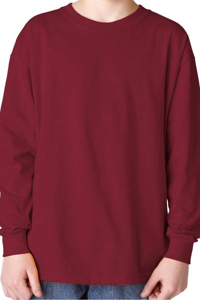 Gildan Youth Long Sleeve Relaxed T-Shirt *Choose Your Color (PLEASE ALLOW 3-5 BUSINESS DAYS. EXPEDITED SHIPPING N/A) - Wholesale Accessory Market