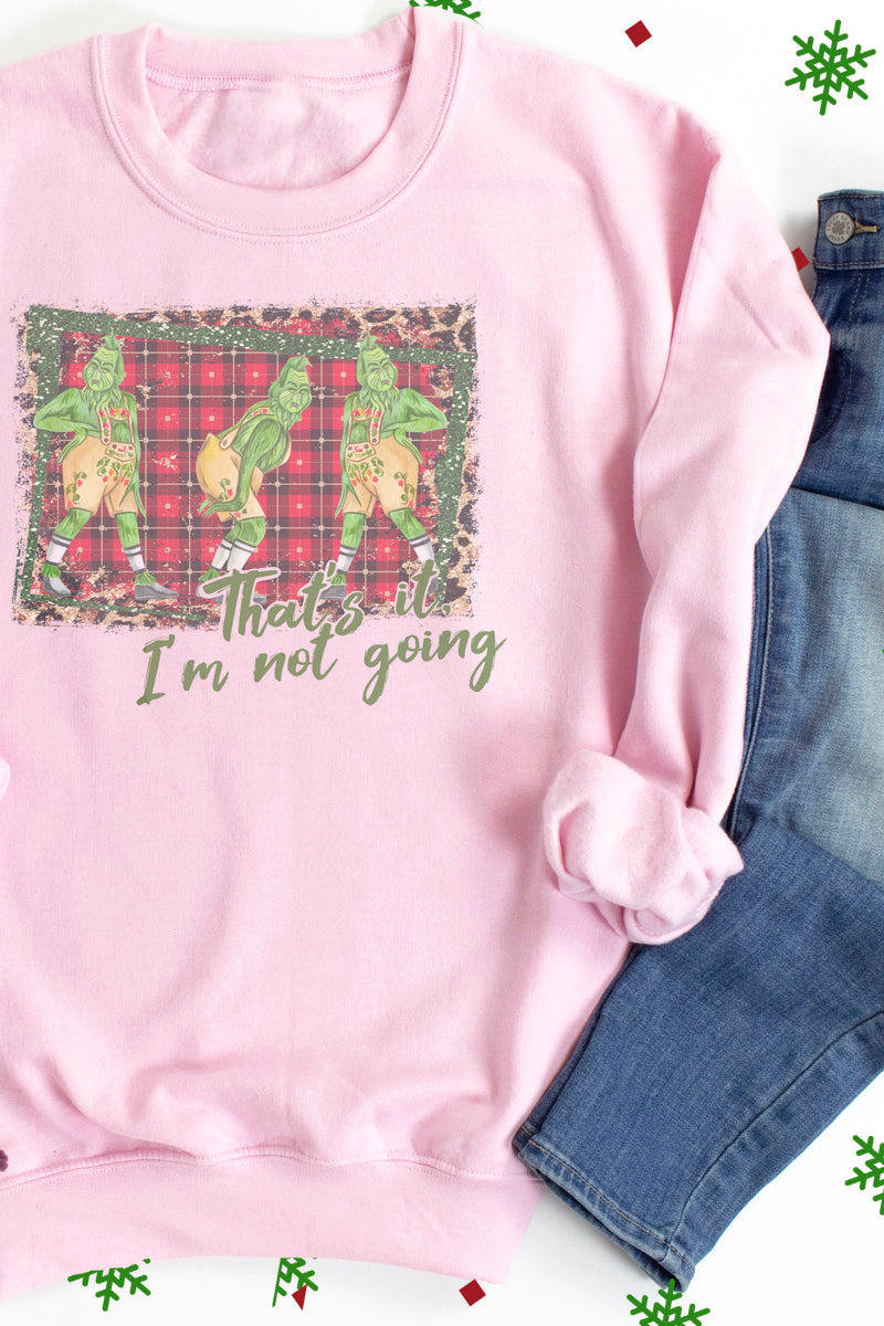 That's It I'm Not Going Grinch Unisex NuBlend Crew Sweatshirt