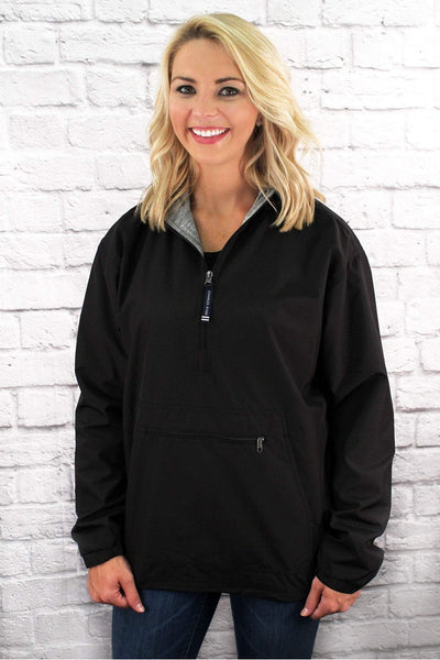 Charles River Women's Lined Solid Pullover, Black (Wholesale Pricing N/A)