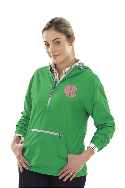 Charles River Women's Chatham Anorak Solid Pullover, Kelly Green #5809 *Customizable!  (Wholesale Pricing N/A) (PLEASE ALLOW 3-5 BUSINESS DAYS. EXPEDITED SHIPPING N/A)